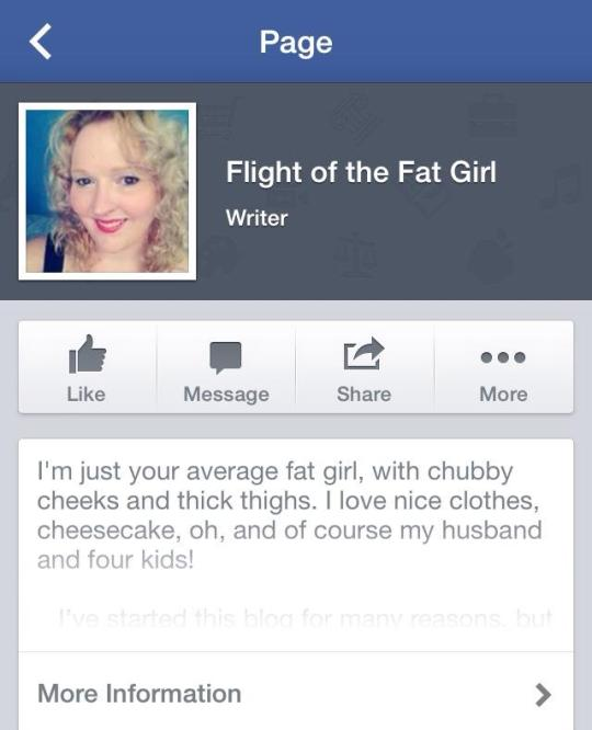 Flight Of The Fat Girl Now on Facebook