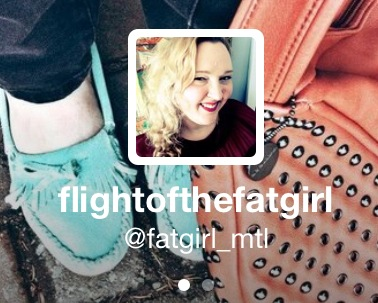 Flight of the Fat Girl is now on Twitter